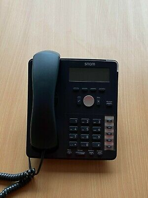 Snom 710 VoIP/SIP Phone For Home/Business • 21£