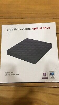 3.0 Ultra Thin External Optical Drive, Boxed, Brand New • 9£