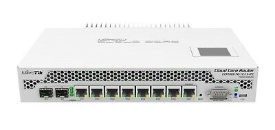 MIKROTIK CCR1009-7G-1C-1S+PC  Cloud Core Router 7xGbit LAN, 1x 10Gbit SFP+ • 274.99£