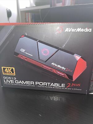 Avermedia Live Gamer Portable 2 Plus 4K Passthrough Capture • 51£