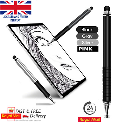 Pencil Stylus For Apple IPad IPhone Samsung Huawei Tablet Phone - Touch Gen Pen • 9.95£