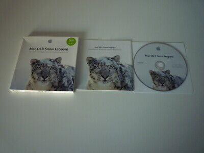 Apple Mac OSX Snow Leopard • 4.95£