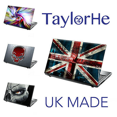 TaylorHe 15.6  Laptop Skin Cover Sticker Decal LEATHER EFFECT  • 8.95£