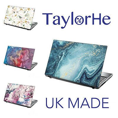 TaylorHe 13-14  Laptop Chromebook Skin Cover Sticker Decal Marble Abstract  • 8.95£