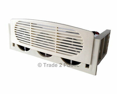 Evercool 5.25  To 3.5  Bay Conversion Kit Fan Cooler Dual Fan • 5.89£