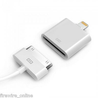 Official Apple Lightning To 30 Pin Adapter For IPod IPhone IPad (MD823ZM/A) • 38.99£