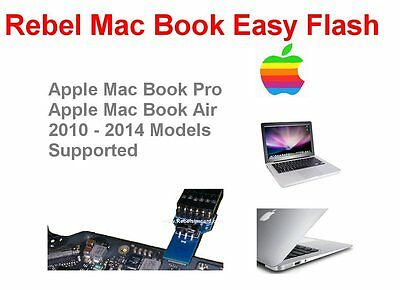Rebel Easy Mac Book A1370 - Mac Book Air Bios Icloud Efi Bios Programming Tool • 49.99£