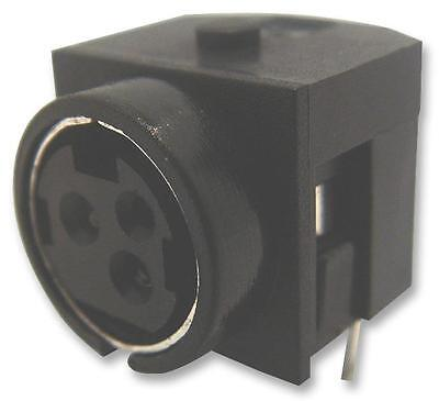 Connectors - Power Entry - CIRCULAR RCPT DC POWER 4 WAY PCB • 10.27£