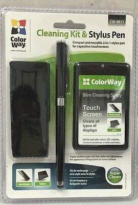 ColorWay Smartphone Cleaning Kit & Stylus Pen Perfect For Any Touchscreen Device • 8.94£