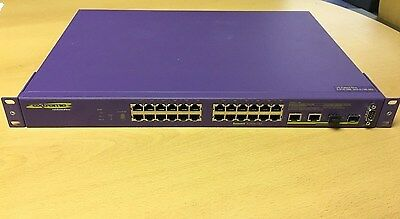 Extreme Networks Summit X150-24T Managed FastEthernet Switch With Brackets • 29.99£