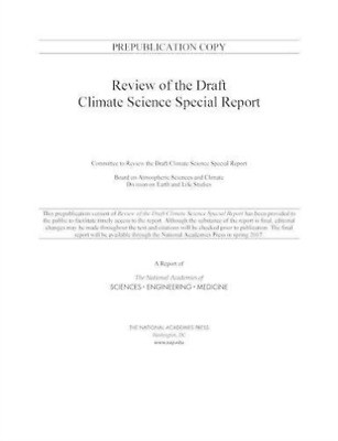 Review Of The Draft Climate Science  BOOK NEW • 46.86£