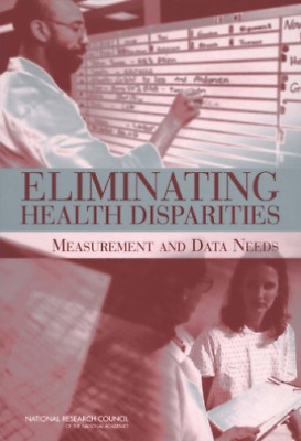 Cnstat-Eliminating Health Disparities:  BOOK NEW • 49.59£