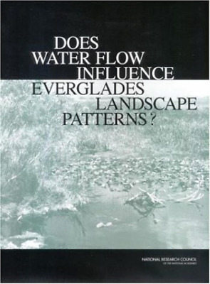Does Water Flow Influence Everglade  BOOK NEW • 40.42£
