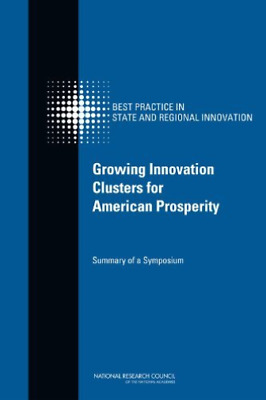 Growing Innovation Clusters For Ame  BOOK NEW • 37.68£