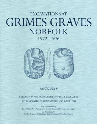 Excavations At Grimes Graves, Fasc  BOOK NEW • 57.83£