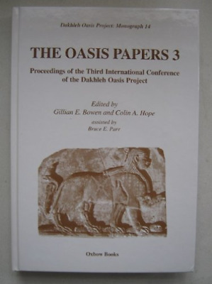 Oasis Papers 3  BOOK NEW • 105.12£