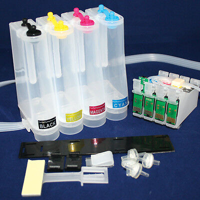 EMPTY Sublimation CISS Ink System For Epson  WF-7110DTW 27XL • 21.89£