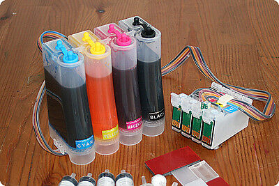 Non-oem CISS Continuous Ink System For With EPSON S22 SX125 SX130 T1285 • 27.90£