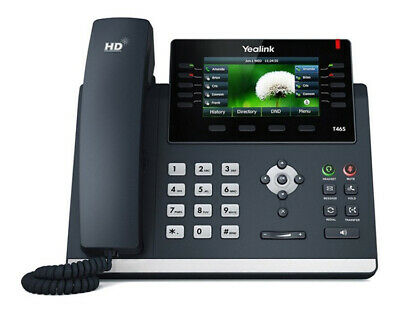 Yealink T46S IP VoIP Desk Phone Handset • 134.50£