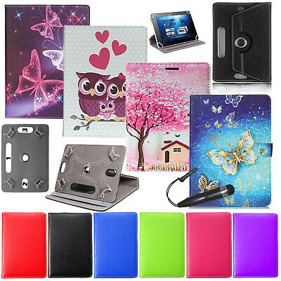 For Amazon Kindle Fire 7  8  8.9  10  Tablet Universal Leather Stand Case Cover • 4.99£