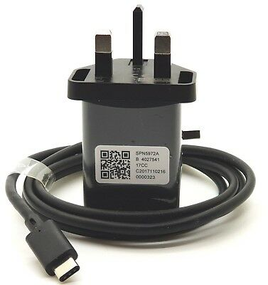 Genuine Motorola Turbo Power 15+ Mains Mobile Charger + Type-C USB Cable • 15.99£