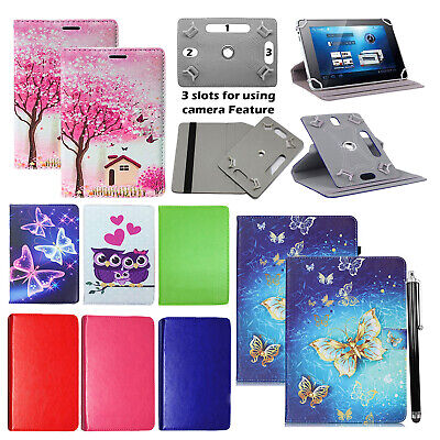 Huawei MediaPad T5 (10.1 Inch) Tablet 360° Universal PU Leather Flip Case Cover • 4.25£