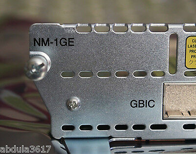 Cisco NM-1GE (1-Port Gigabit Ethernet Network Module) CCNA CCNP CCIE • 39.99£