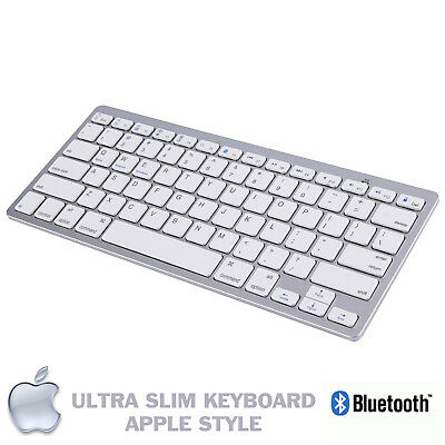 New Slim Wireless Bluetooth Keyboard For Imac Ipad Android Phone Tablet Pc Uk • 10.95£