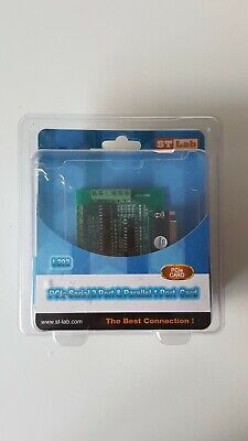 PCIe Serial 2 Port & Parallel 1 Port Card By ST Lab • 10.99£