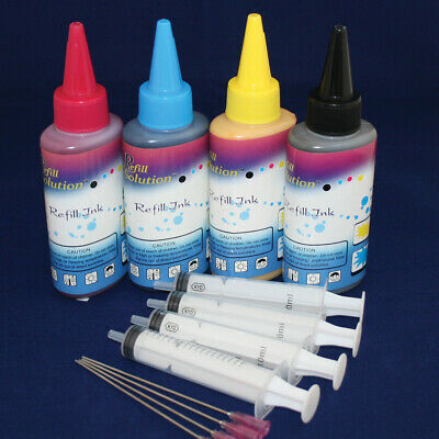 400ml Pigment Refilling Ink Kits Set For Ricoh Brother Lexmark Hp • 19.90£