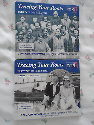 Tracing Your Roots CDs: BBC Radio 4:  Parts 1 & 2: Audio: • 7.50£