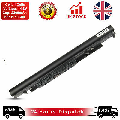 JC04 Battery For HP 15-bs000 15-bw000 17z-ak000 Laptop 919700-850 919701-850 New • 15.99£