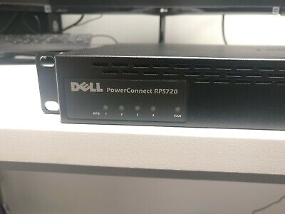 Dell PowerConnect RPS720 External 720W Redundant Power Supply • 40£