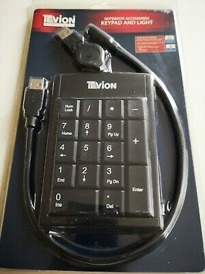 Tevion Keypad And Light - USB Connection - New In Box And Unused. • 3£