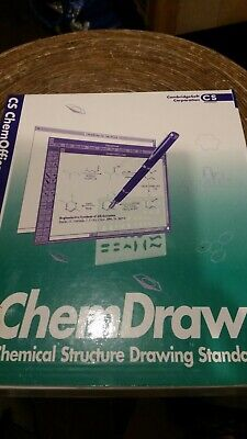 Chemdraw Cs Pro 3.5.1 Boxed And New  • 250£