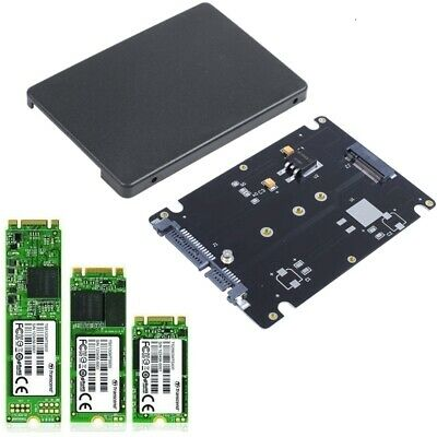 M.2 NGFF SSD To 2.5  SATA 3 Adapter Card Hard Disk Case Enclosure Converter • 4.98£