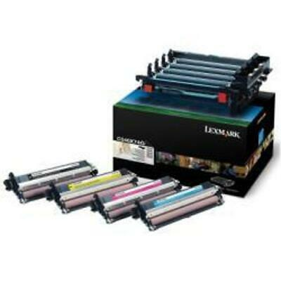 Genuine Lexmark Imaging Kit C540X74G Cyan/Yellow/Magenta/Black Open C540 VAT Inc • 97.95£