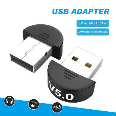 USB 5.0 Bluetooth Adapter Wireless Dongle High Speed For PC Windows Computer • 4.99£