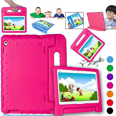 Kids Case For Huawei MediaPad T3, T5, M5 EVA Shockproof Handle Stand Tough Cover • 11.98£