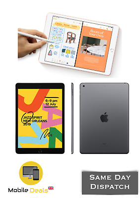 New Apple IPad 7th Generation 2019 10.2-inch WiFi 32 GB Various Colours • 349.99£