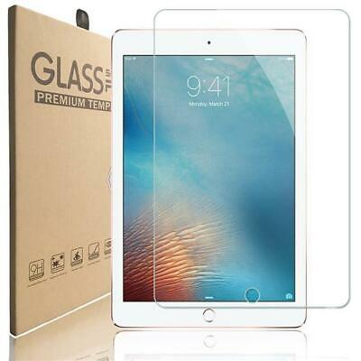 100% Genuine Tempered Glass Screen Protector For Apple IPad 9.7 (2017) • 3.99£