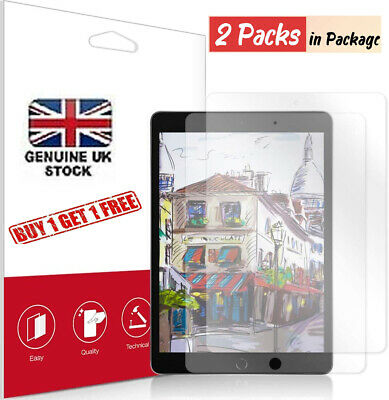 2PC Tempered Glass Screen Protector For Apple IPad 2/3/4 Mini Air 3/ Pro 11 10.2 • 4.49£