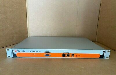 ShoreTel UC Server 20 ShoreTel Unified Communication Server Model: 20 • 149.99£