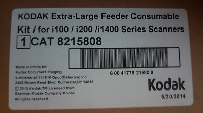 Kodak Extra-Large Feeder Consumables Kit Scanner Consumable Kit For 8215808 • 543.95£