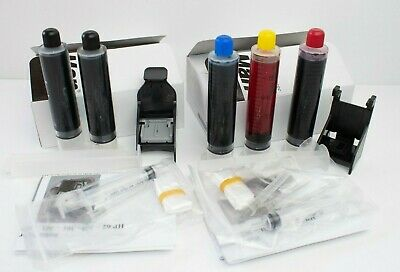 HP 302 + 302XL Black & Colour Ink Refills For HP302 Black And HP302 Colour • 14.99£
