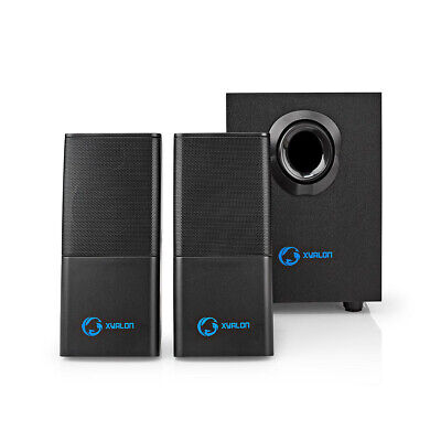 Xyalon Computer Gaming 2.1 Subwoofer Multimedia 33W Stereo Speaker System • 23.20£