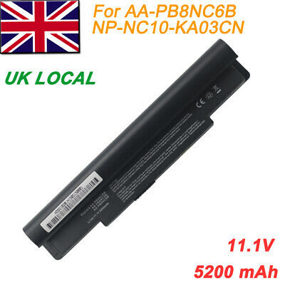 6 Cell Laptop Battery For Samsung NP-NC10-KA03CN NC10 N110 N120 N130 N140 N510  • 16.99£