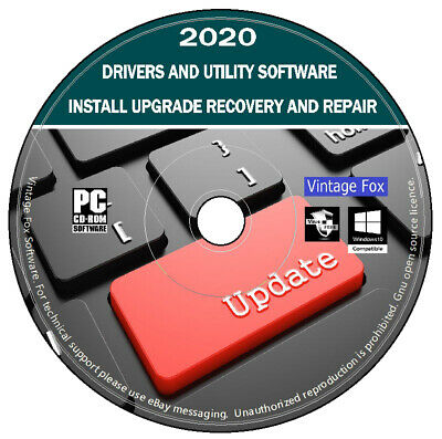 2020 Drivers For Any PC & Laptop Update Recovery Repair Restore For Windows DVD • 2.95£