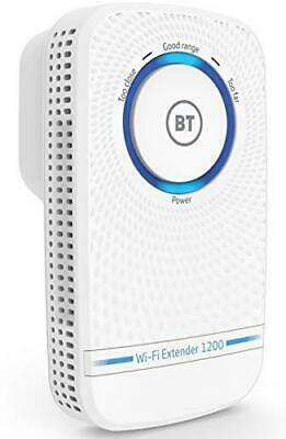 BT Wi-Fi Extender 1200 With 11ac 1200 Dual-Band Wi-Fi - 080462 • 24.99£