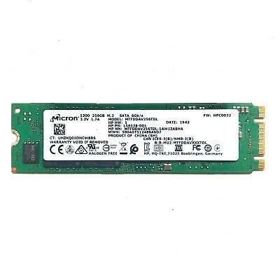 CRUCIAL BY MICRON 256GB M.2 SSD NAND PCI Express 6.0Gb/s SATA Solid State Drive • 32.50£